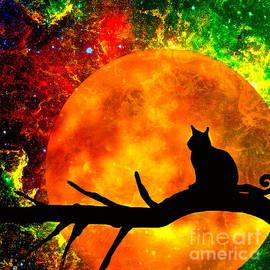 Saundra Myles - Black Cat Harvest Moon