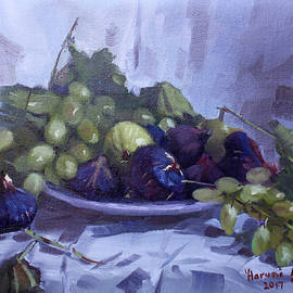 Black Figs and Grape - Ylli Haruni