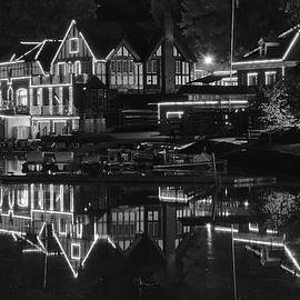 Frozen in Time Fine Art Photography - Black Night at Boathouse Row