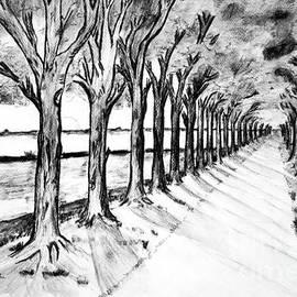 Black Promenada by Ramona Matei