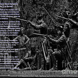 Aberjhani - Black When Haitians Were Heroes in America Series Print No. 2 with text