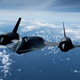 Blackbird High and Fast by Erik Simonsen