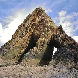 Richard Brookes - Blackchurch Rock MouthMill Beach North Devon
