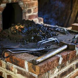 Blacksmith Workspace by Heather Applegate