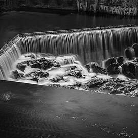 Blackstone River I Pawtucket Bw by David Gordon