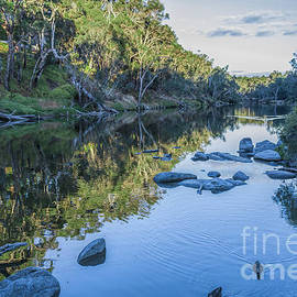 Elaine Teague - Blackwood River Rocks, Bridgetown, Western Australia