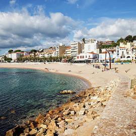 Artur Bogacki - Blanes Town Beach and Sea on Costa Brava