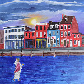 Blessed Fells Point by Paul Bashore