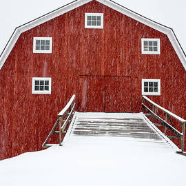 Edward Fielding - Blizzard at the Old Cow Barn