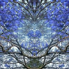 Blossoming Tree In Abstraction by Leanne Seymour