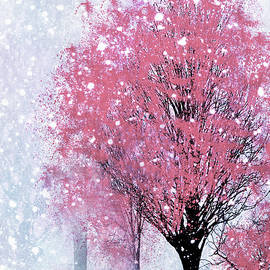 Georgiana Romanovna - Blossoms In Winter Wall Art
