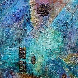 Grace Iradian - Blue Abstract
