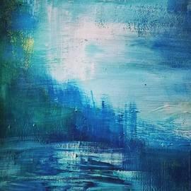 Nikolina Rosic -  Blue Abstraction