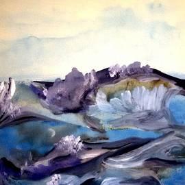 Madina Kanunova - Blue and purple morning