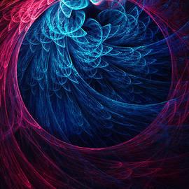 Oksana Ariskina - Blue and Violet Abstracts