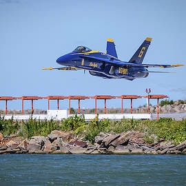 Brad Hartig - BTH Photography - Blue Angel Low Transition Take Off