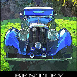 Blue Bentley Pop Title by David King