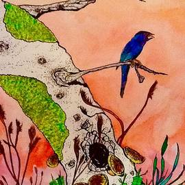 Blue Bird by Robert Hilger
