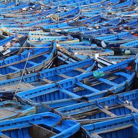 Ramona Johnston - Blue Boats of Essaouira