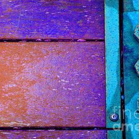 Blue Bridge Bolts by Karen Adams