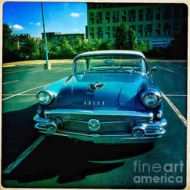 Blue Buick by Terry Rowe