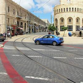 Munir Alawi - Blue Car