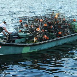 Blue Crab Pod Fisherman by Ola Allen