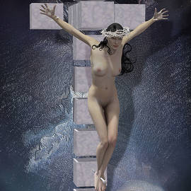 Quim Abella - Crucified on the cross Hypercube