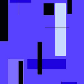 Johanna Hurmerinta - Blue Design 1 Vertical