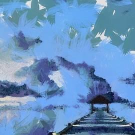 Catherine Lott - Blue Dock