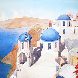 Apollo Koliousis - Blue Domes