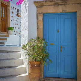 Inge Johnsson - Blue Door and Stairs