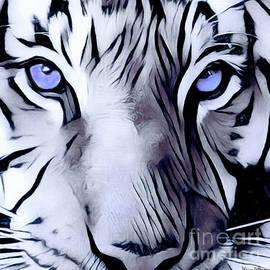 Alicia Hollinger - Blue Eyed Tiger