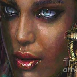 Blue Eyes 1 by Angie Braun