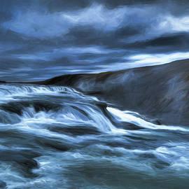 Blue Flow by Stephen Hamner