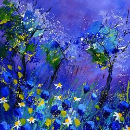 Pol Ledent - Blue flowers 567160