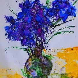 Margaret Morgan - Blue Flowers
