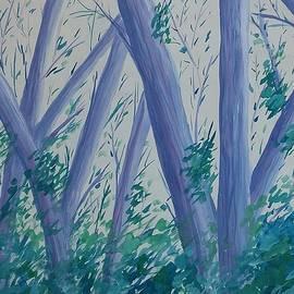 Jan Roelofs - Blue Forest