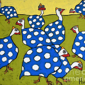 Blue Guineas by David Hinds