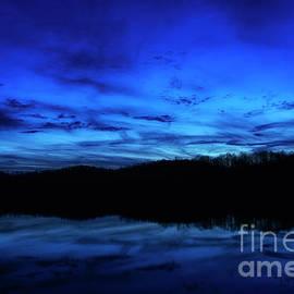 Thomas R Fletcher - Blue Hour at the Lake