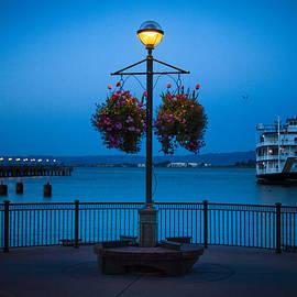 Bonnie Follett - Blue Hour at the Waterfront