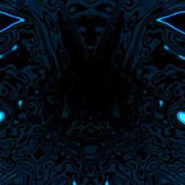 Abstract Angel Artist Stephen K - Blue Masks
