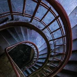 Jaroslaw Blaminsky - Blue metal staircase