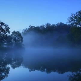 Blue Morning by Angie Tirado