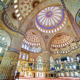 Blue Mosque Interior by Artur Bogacki