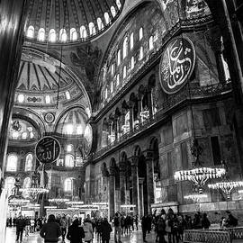 Blue Mosque-- Sultan Ahmed Mosque Interior by Rene Triay Photography