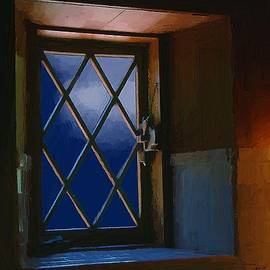 RC deWinter - Blue Night through Casement