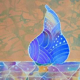 Blue Pear by Nancy Jolley