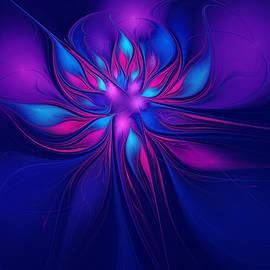 Anna Bliokh - Blue Pink Fantasy Flower