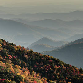 Blue Ridge Autumn by DiFigiano Photography